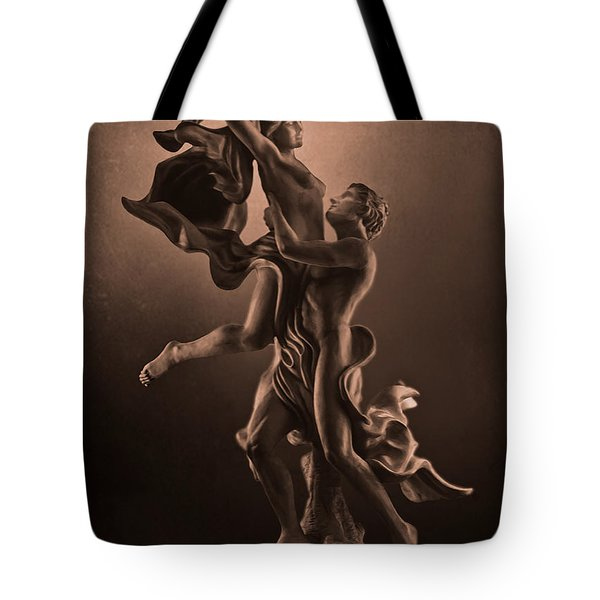 The Dance Of Love Tote Bag