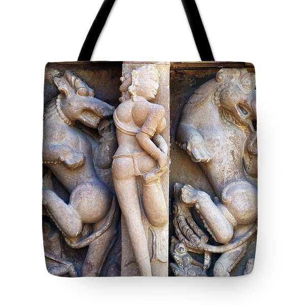 The Dancer In Stone 2 Tote Bag by C H Apperson
