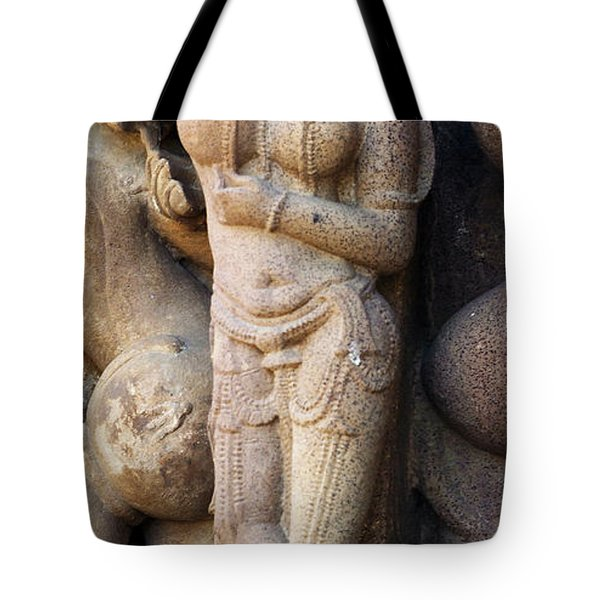 The Dancer In Stone Cropped Tote Bag by C H Apperson