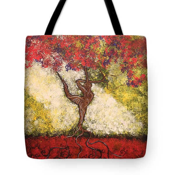 The Dancer Series 7 Tote Bag