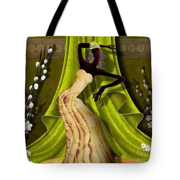 The Dancer V3 Tote Bag by Bedros Awak