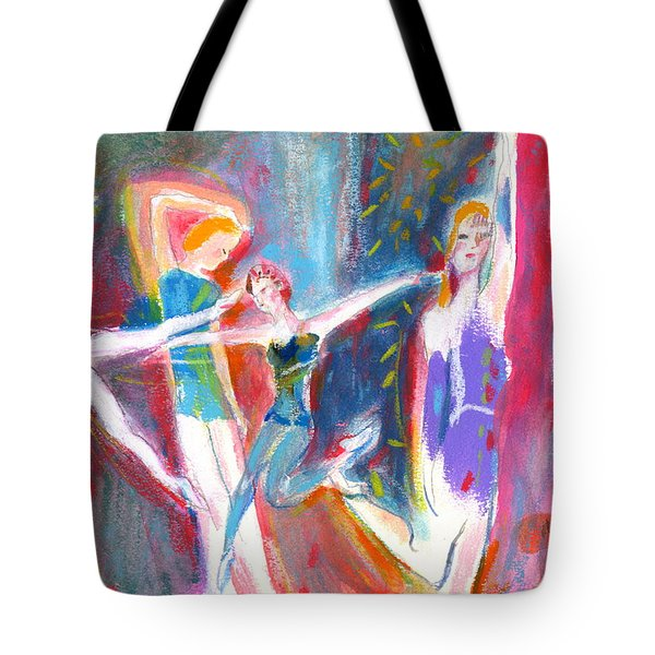 The Dancers Tote Bag by Mary Armstrong