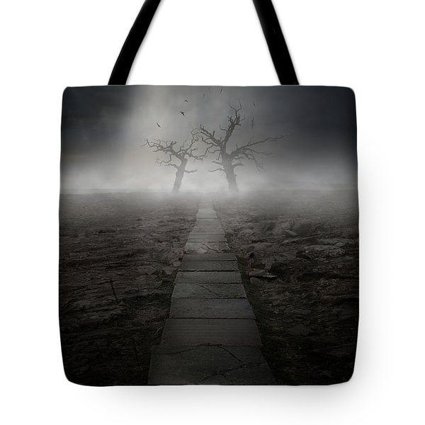 The Dark Land Tote Bag by Jaroslaw Blaminsky