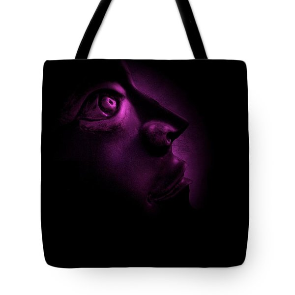 The Darkest Hour - Magenta Tote Bag by David Dehner