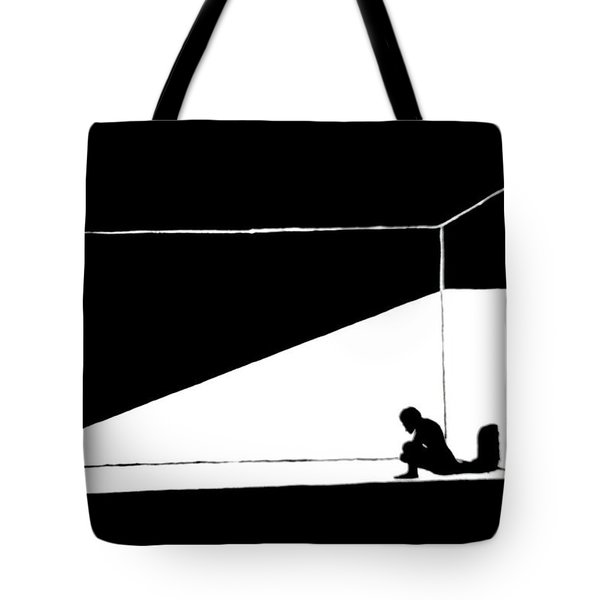 The Darkned Room Tote Bag by Justin Moore