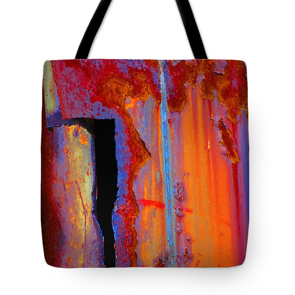 Tote Bag featuring the photograph The Darkside by Christiane Hellner-OBrien