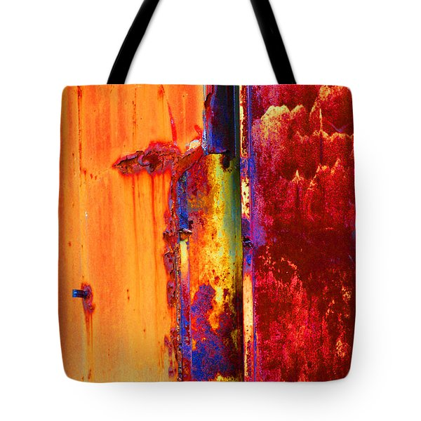 Tote Bag featuring the photograph The Darkside II by Christiane Hellner-OBrien