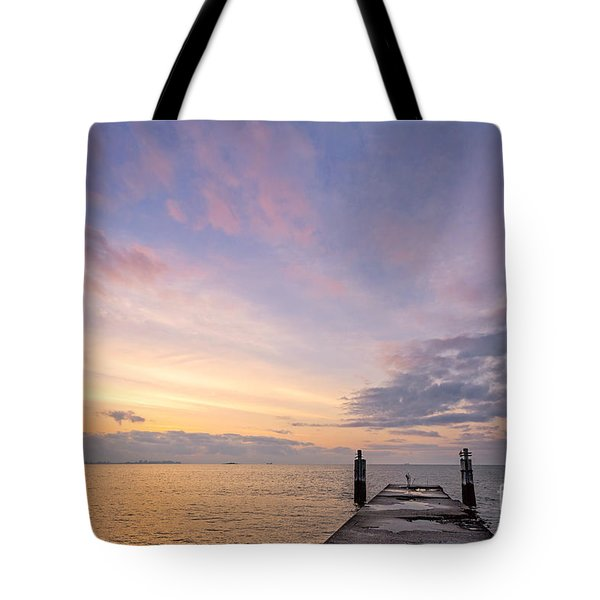 The Dawn Of A New Age Tote Bag