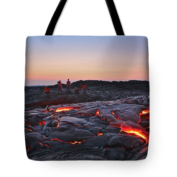 The Dawn Of Time Tote Bag
