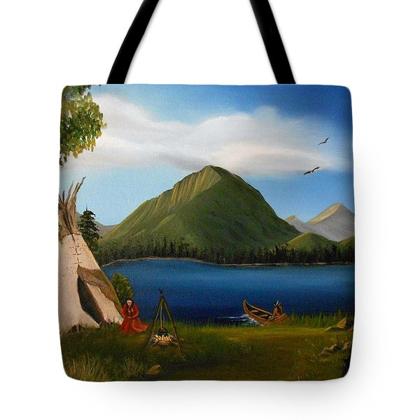 Dawn Of Tohidu Tote Bag by Sheri Keith
