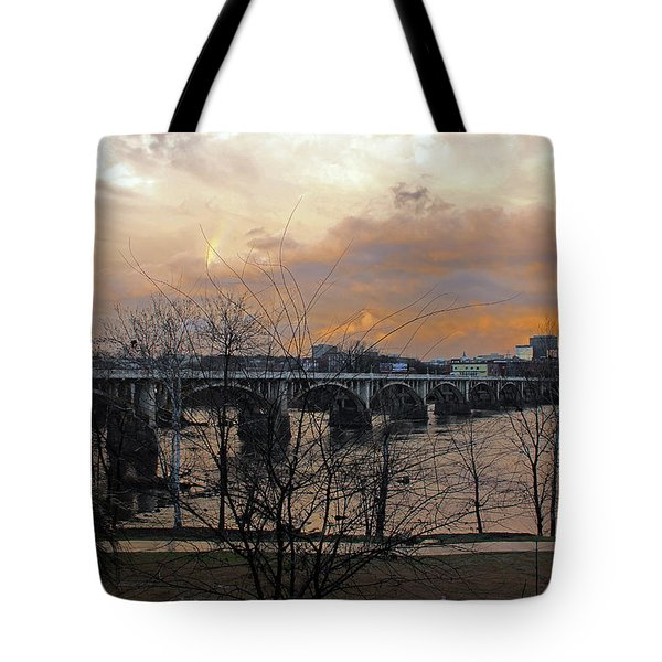 Tote Bag featuring the photograph The Day After by Joseph C Hinson Photography