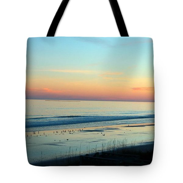 The Day Ends Tote Bag