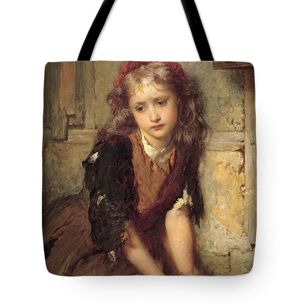 The Dead Goldfish Tote Bag by George Elgar Hicks
