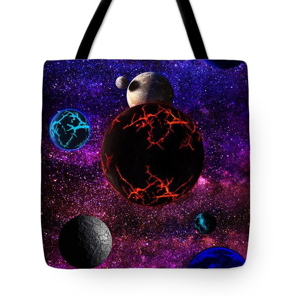 The Dead Solar System  Tote Bag by Naomi Burgess