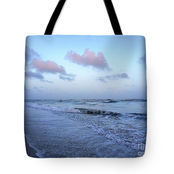 Tote Bag featuring the photograph The Deep Blue Sea by Shelia Kempf