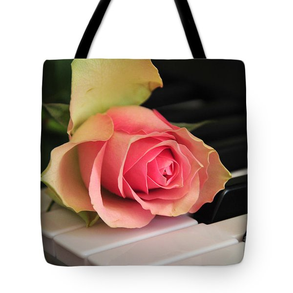 The Delicate Rose Tote Bag