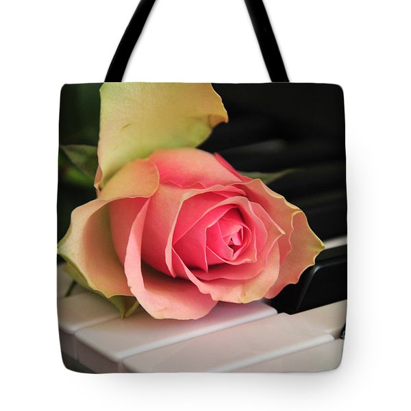 The Delicate Rose Tote Bag