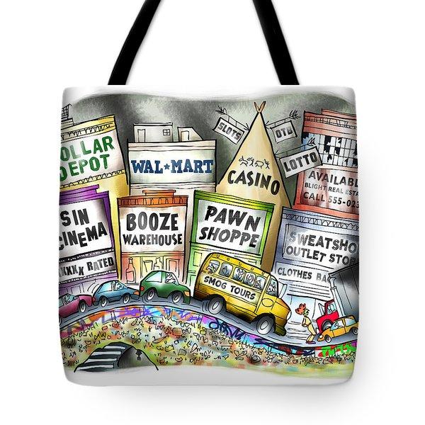 The Delights Of Modern Civilization Tote Bag