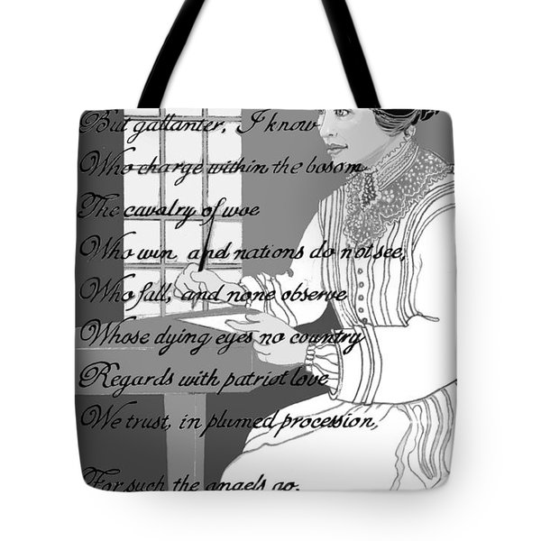 Tote Bag featuring the digital art The Demon Brain by Carol Jacobs