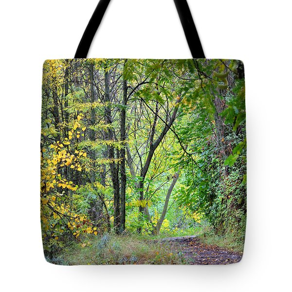 The Dense Forest Tote Bag by Guido Montanes Castillo