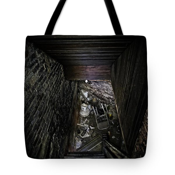 The Descent Tote Bag by Brett Engle