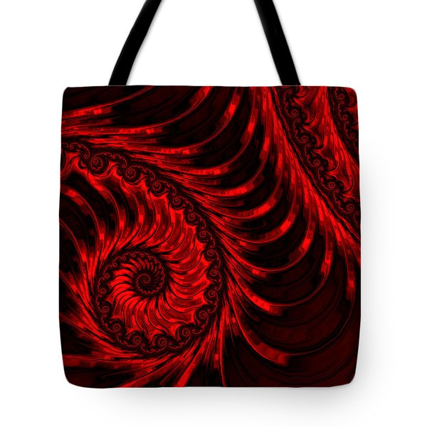 The Descent Tote Bag by Susan Maxwell Schmidt
