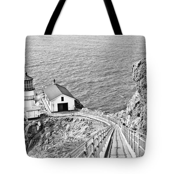 The Descent To Light Tote Bag