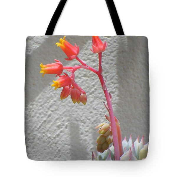 Tote Bag featuring the photograph The Desert Blooms by Lew Davis