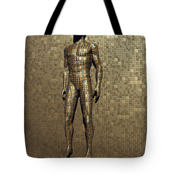 The Design And Construction Of Robots Tote Bag by Mark Stevenson