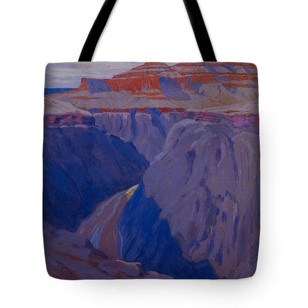 The Destroyer Tote Bag by Arthur Wesley Dow