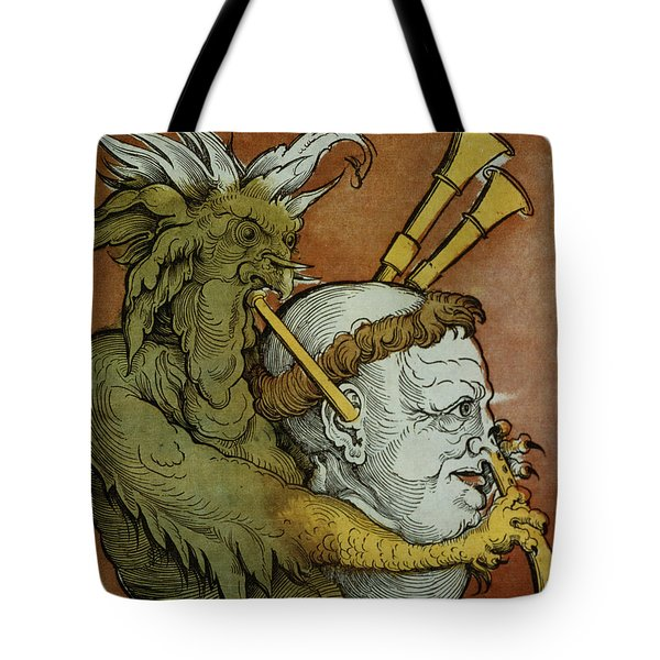 The Devil Tote Bag by Eduard Schoen