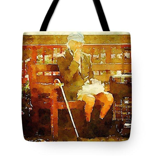 The Devonshire Man Tote Bag