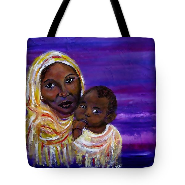 The Devotion Of A Mother's Love Tote Bag by The Art With A Heart By Charlotte Phillips