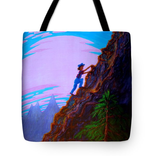 The Difficult And The Steep Tote Bag