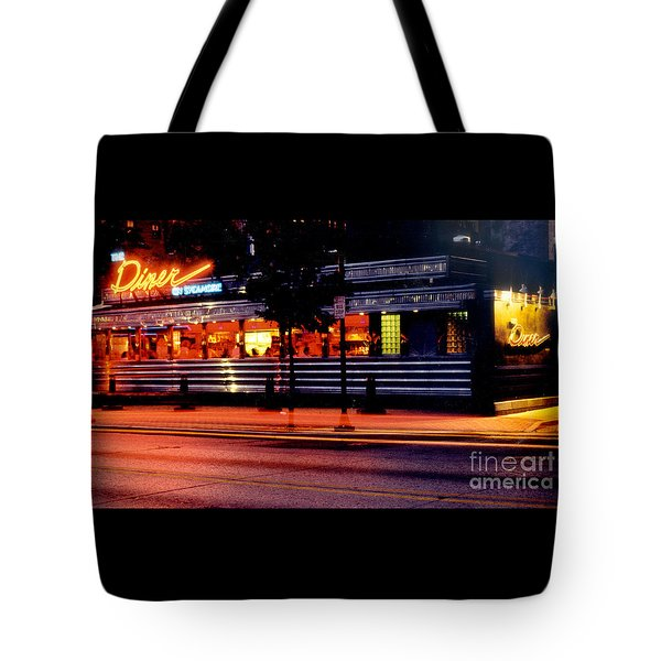 The Diner On Sycamore Tote Bag by Gary Gingrich Galleries