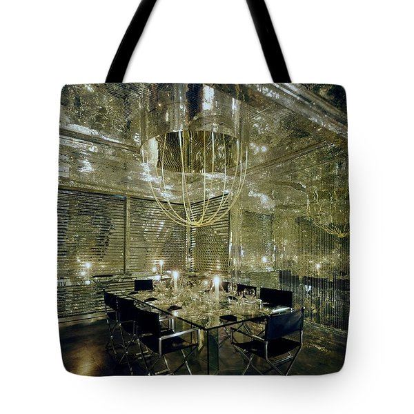 The Dining Room Of Ara Gallant's Apartment Tote Bag