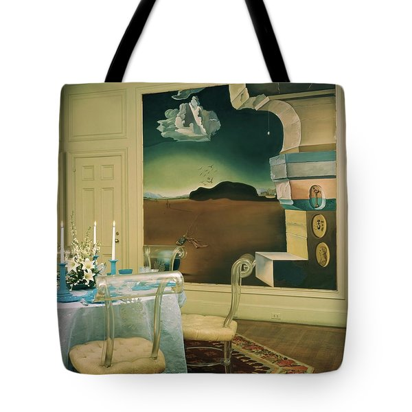 The Dining Room Of Princess Gourielli Tote Bag