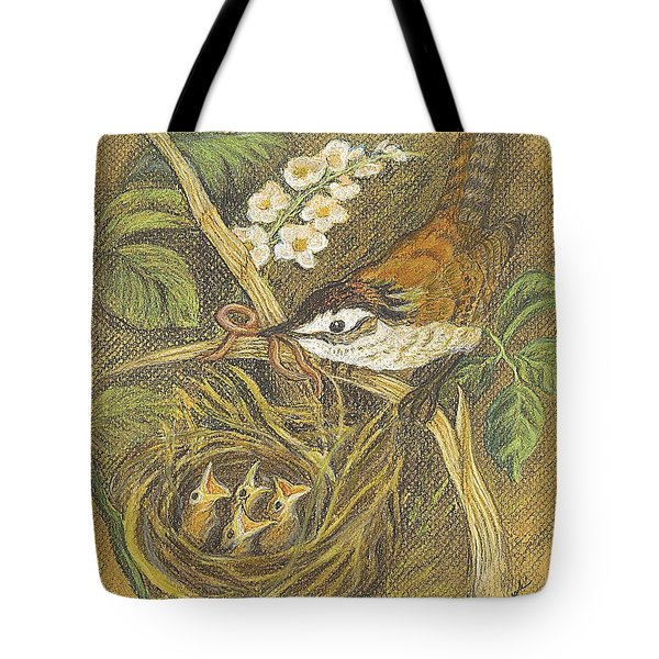 The Dinner Bill Tote Bag by Carol Wisniewski