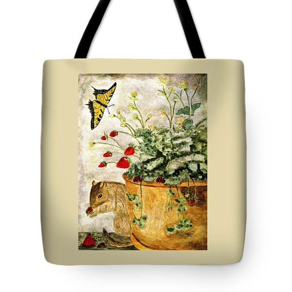 The Discovery Tote Bag by Angela Davies