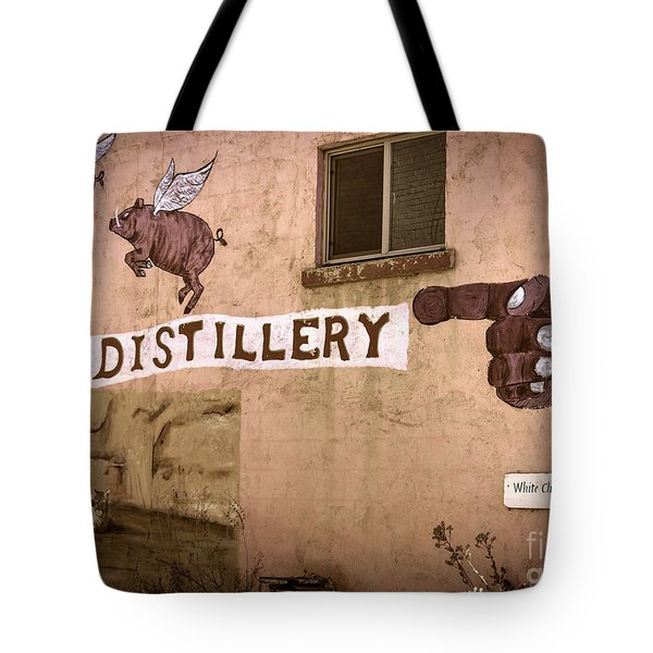 The Distillery Tote Bag by Janice Rae Pariza