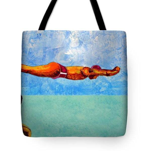 The Diver Tote Bag
