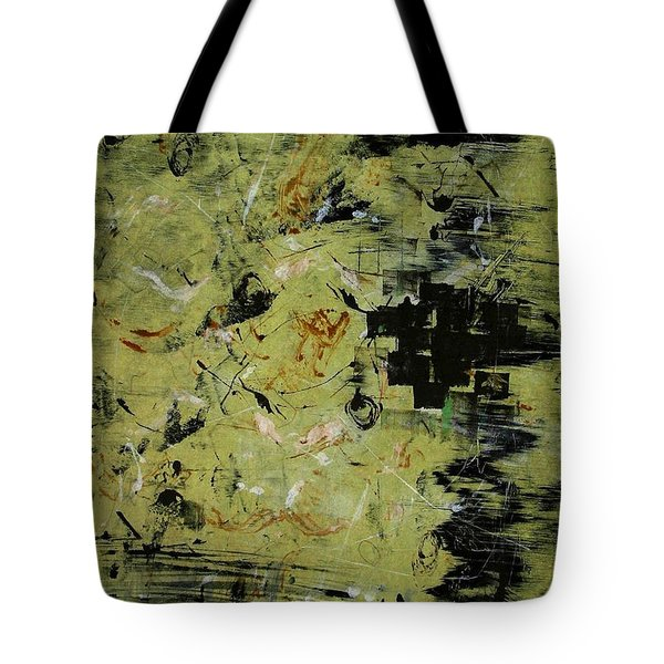 Tote Bag featuring the painting The Docks At Istanbul by Lesley Fletcher