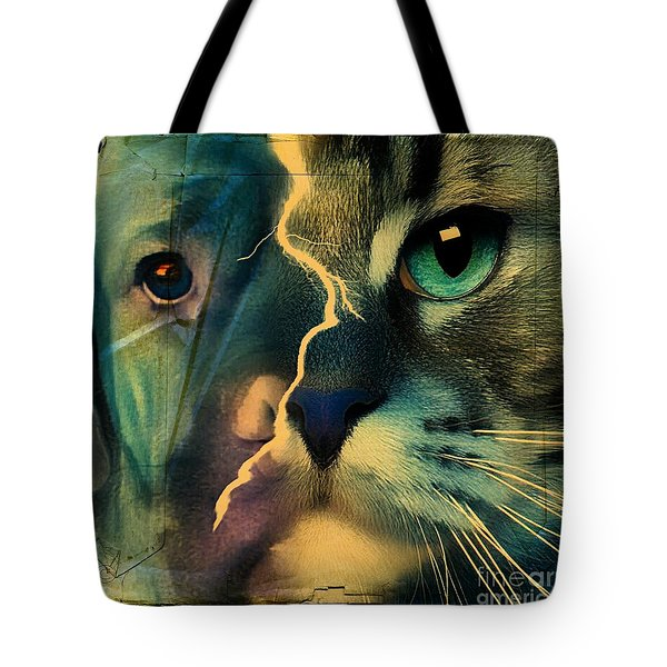 The Dog Connection -green Tote Bag