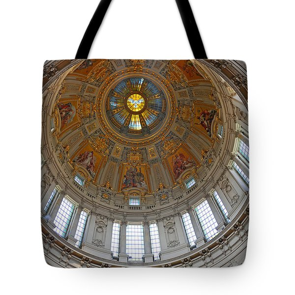 Tote Bag featuring the photograph The Dome Of Berlin by Sabine Edrissi