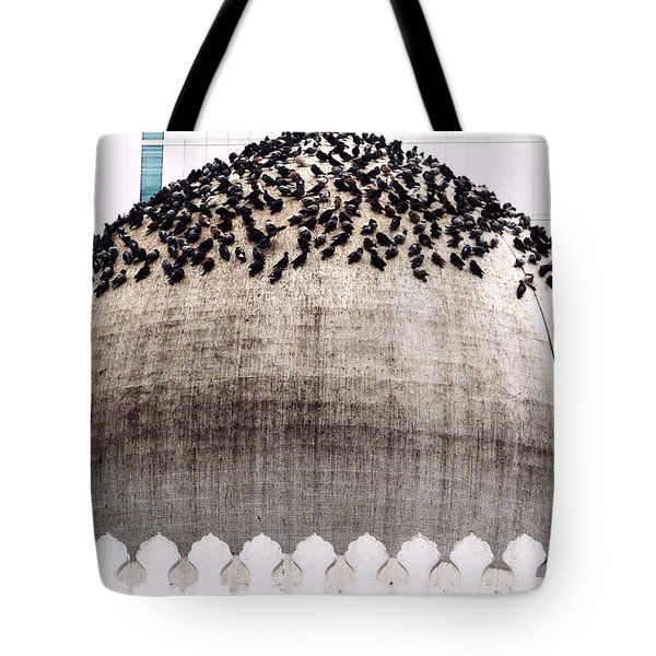 The Dome Of The Mosque Tote Bag