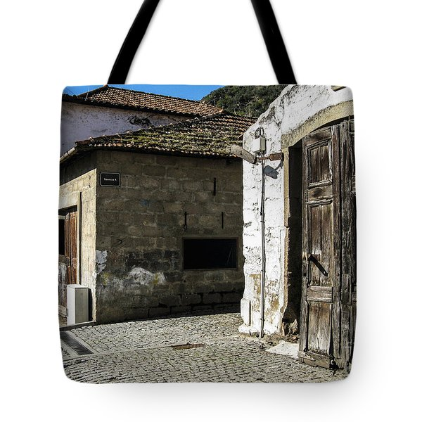 Tote Bag featuring the photograph The Door by Arlene Carmel