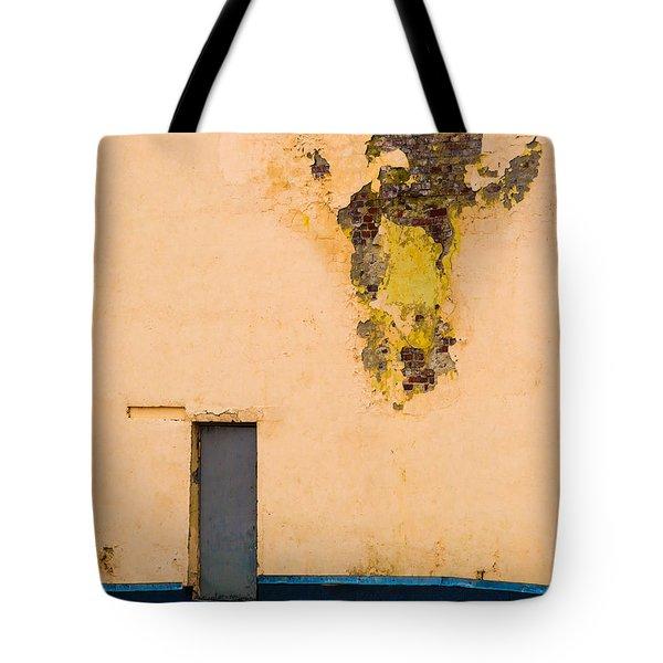 The Door - Featured 2 Tote Bag by Alexander Senin