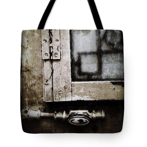 The Door Of Belcourt Tote Bag by Natasha Marco