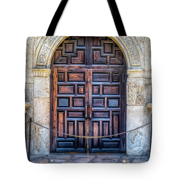 Tote Bag featuring the photograph The Alamo by Robert Bellomy