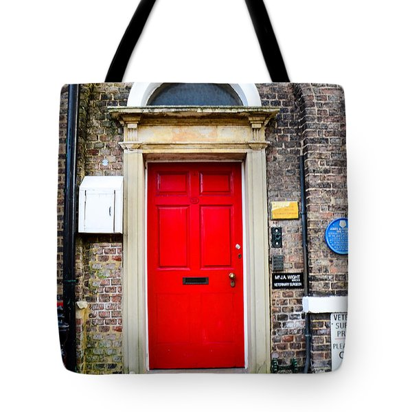 The Door To James Herriot's World Tote Bag by Mary Carol Story
